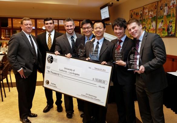 Terrence Allotta (FEMBA 2014), Jack Zhu (FEMBA 2012), Jeff Chang (FEMBA 2012), Alexey Aleshin (MD/MBA 2012), Mike Tsai (MBA 2012)