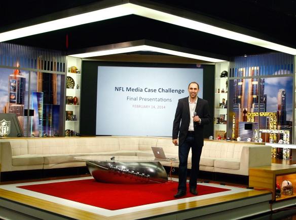20140214_Josh Schachter 14 NFL Case Competition Speaking_K6T7416