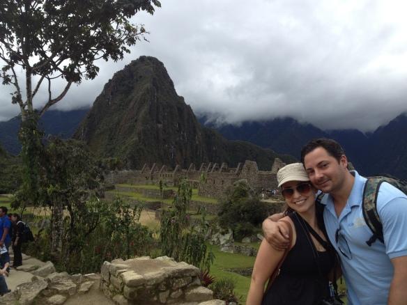 20140314 Ilene Hernandez 14 and Doug Longo in Peru