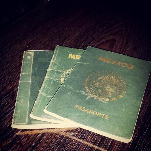 20140613 Manuel Ambriz three passports