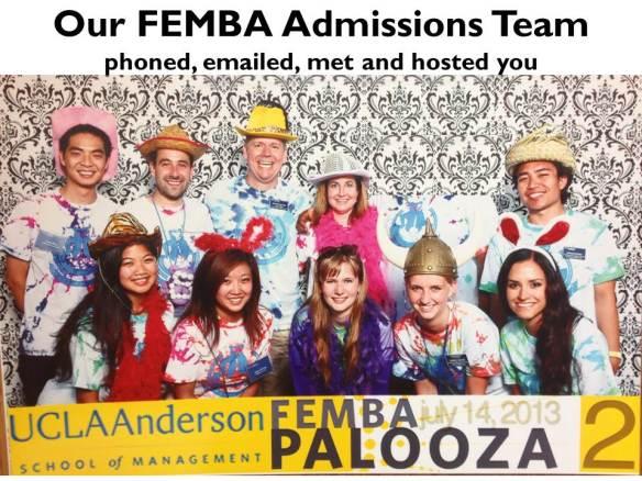 20140825 LF Admissions Team