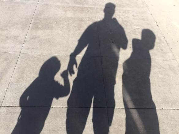 20150125 shadows with my boys