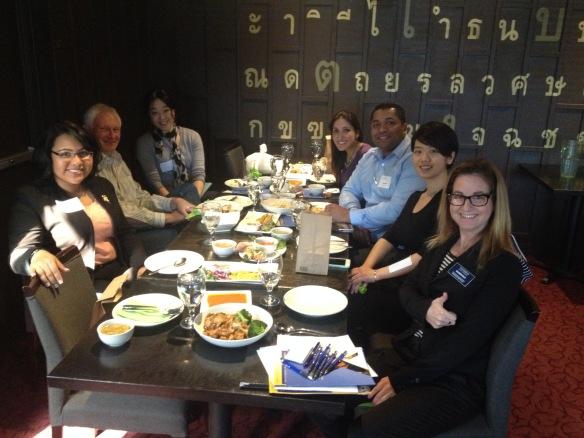 20150303 Redmond WA lunch Maureen