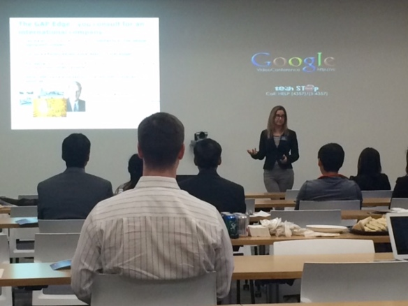 20150320 Google Mountain View Maureen Riley Presenting