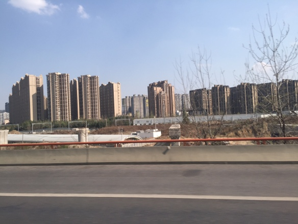 20150402 Start of China trip aparment buildings