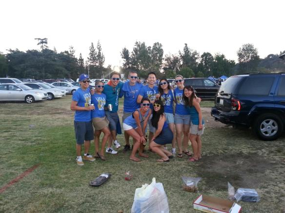 20150529 Kari Schumaker and Tracey Le and friends at UCLA footballfall2012 IMG_1955