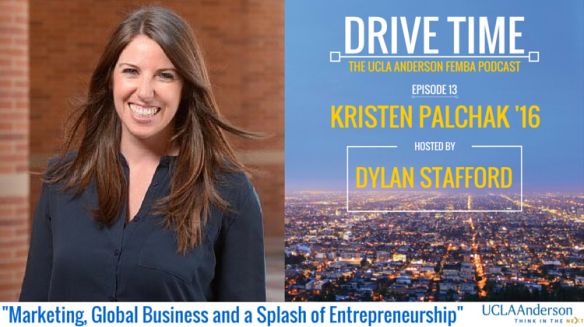 Drive Time - Dylan's Blog - Episode 13 - Kristen Palchak - 7.28.16