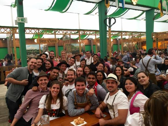 20170505 Akshay Grover 18 Oktoberfest in Munich